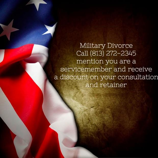 military divorce discount